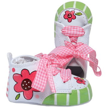"Lil Tootsies ""Pretty in Pink"" Baby Shoes"